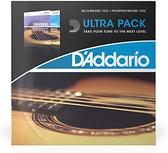 小叮噹的店- D'addario EZ910-EJ26 木吉他弦 組合包 Twin Pack 綜合民謠吉他弦