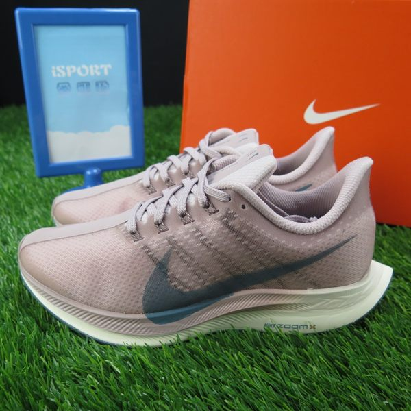 【iSport愛運動】NIKE AIR ZOOM PEGASUS 35 TURBO 慢跑鞋 正品 AJ4115646 女款 粉