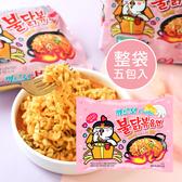 韓國 辣雞奶油義大利麵 (五包入) 650g 培根奶油 粉色辣雞 辣炒雞 辣雞麵 辣雞炒麵 泡麵