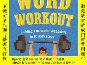 二手書博民逛書店英文原版罕見詞匯練習 Word Workout: Building a Muscular Vocabulary i