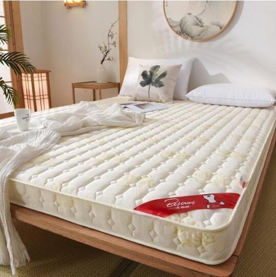 床墊 6cm厚床墊1.2米1.5m1.8m床學生雙人榻榻米褥子海綿宿舍加厚軟墊被單人【快速出貨八折下殺】
