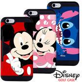 韓國原裝正版授權 迪士尼 i8 i7 i6S iPhone 8 7 6S Plus 三星 S8 S8+ 雙層防摔手機殼 保護殼【AL85701】