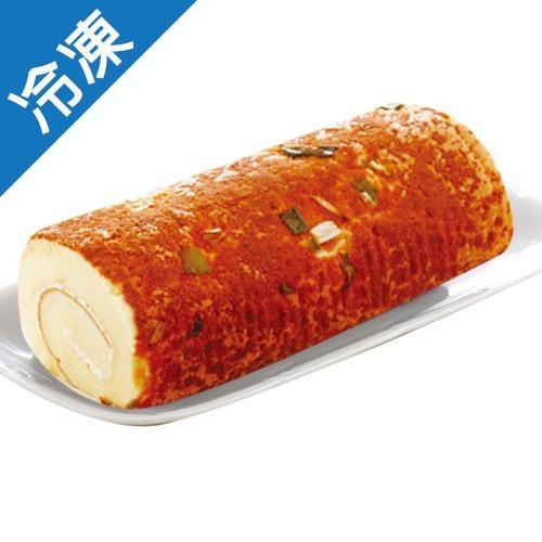 【香醇滑順】軟綿蔥鬆蛋糕捲(18CM)/條【愛買冷凍】