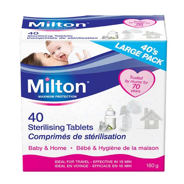 【加贈12錠】英國 Milton 米爾頓 消毒錠40入