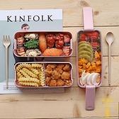 日式飯盒便當盒分隔型微波爐餐盒【雲木雜貨】