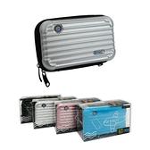 行李箱收納盒 (斜背/手拿兩用) 手拿包 耳機包 零錢包 化妝包 隨身包 3C用品收納盒 拉鍊包