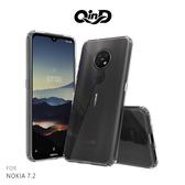 現貨 QinD NOKIA 7.2 雙料保護套 軟邊硬殼 手機套 保護套 透明殼
