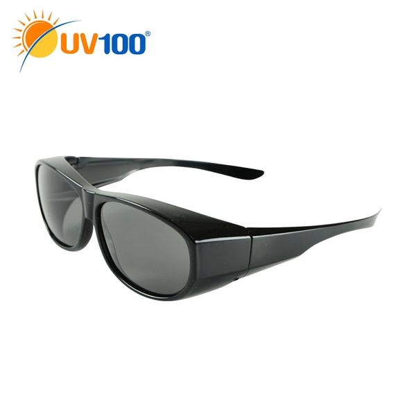 UV100 防曬 抗UV Polarized套鏡太陽眼鏡-經典百搭