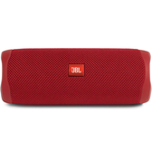 [9美國直購] JBL FLIP 5 揚聲器 Waterproof Portable Bluetooth Speaker - Red (New Model)