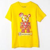 【人氣熊】馬克43T恤-黃色、黑色(請附註購買顏色)