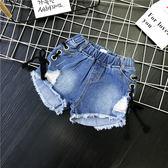 年末鉅惠 兒童裝夏裝新品中小女童韓版牛仔褲短褲女寶寶百搭時尚熱褲潮