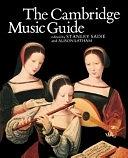 二手書博民逛書店 《The Cambridge Music Guide》 R2Y ISBN:0521399424│Cambridge University Press