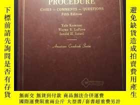 二手書博民逛書店Modern罕見Criminal Procedure: Case