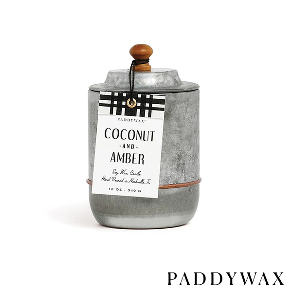 PADDYWAX 椰子琥珀 Coconut & Amber 340g Homestead系列 美國香氛 蠟燭
