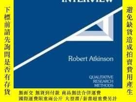 二手書博民逛書店The罕見Life Story Interview (qualitative Research Methods)奇
