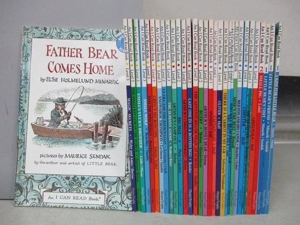 【書寶二手書T1/語言學習_RFA】An I Can Read Book-Father Bear Comes Home等_共32本合售