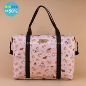 輕量旅行袋 包包 防水包 雨朵小舖 5U162-012 輕量旅行袋-橘吐司柯基05051 uma hana