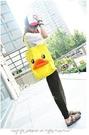 【發現。好貨】超可愛立體黃色小鴨側背包 立體造型側背包 側肩包帆布包 B.Duck造型