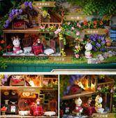 diy小屋盒子劇場手工制作玩具迷你房子拼裝模型送生日創意禮物女     color shop