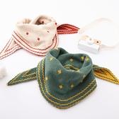 嬰兒圍巾冬季保暖寶寶圍脖三角巾6個月-8歲1秋冬男童女孩兒童圍巾 嬡孕哺