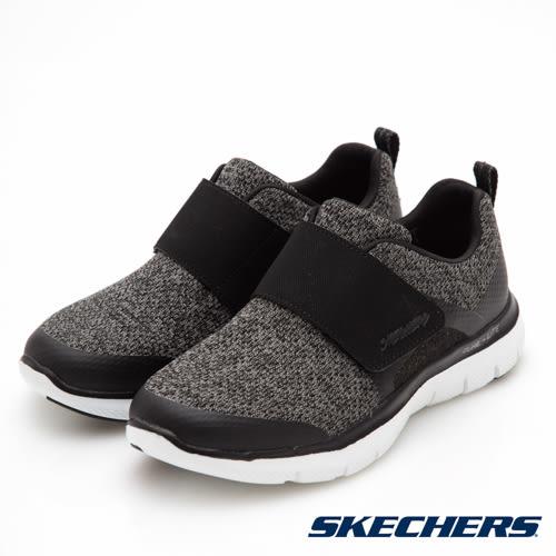 SKECHERS FLEX APPEAL 2.0 運動系列 黑 12898BKW 女鞋