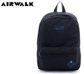 【橘子包包館】AIRWALK 極簡輕生活 格紋尼龍防潑水後背包 A635324020 黑色