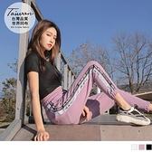 《KS0816-》台灣製率性織帶抽繩休閒運動褲 OB嚴選