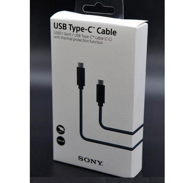 【免運費】SONY 原廠 UCB32 Type-C TO Type-C™ 連接線( 原廠盒裝)★原廠盒裝