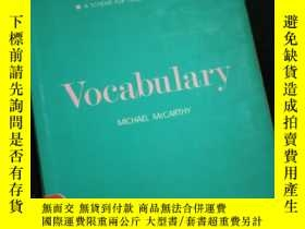 二手書博民逛書店Vocabulary罕見(language Teaching : A Scheme For Teacher Edu