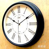 歐式復古靜音掛鐘歐美時鐘仿古掛表時鐘 BF3478【旅行者】