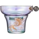 炫彩金銀燒茶漏茶濾功夫茶具用品配件茶漏一體茶濾創意過濾器簡約