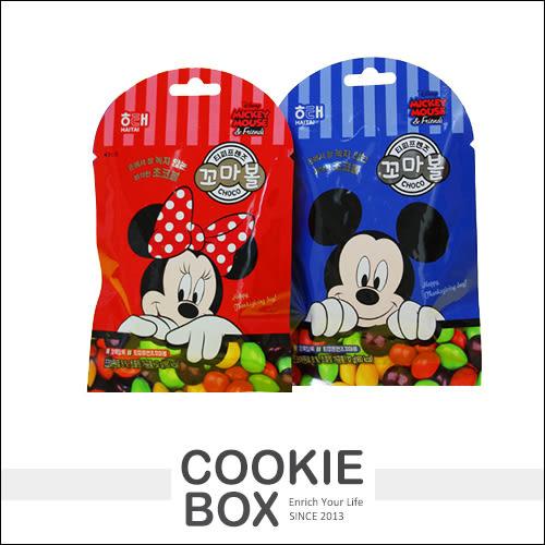 韓國 HAITAI 海太 限定 迪士尼 米奇 米妮 巧克力球 32g 零食 *餅乾盒子*