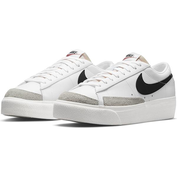 NIKE BLAZER LOW PLATFORM 白 女 經典 厚底 增高 簡約 穿搭 休閒鞋 DJ0292101