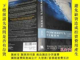 二手書博民逛書店英文原版;POWERFUL罕見TIMESY9112 EAMONN