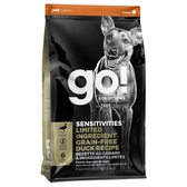 【寵物王國】Go!低致敏無穀系列 鴨肉 全犬配方3.5磅/1.58kg
