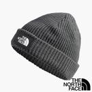 【THE NORTH FACE 美國】中性 SALTY DOG 針織帽『深灰』NF0A3FJW 保暖 秋冬 保暖帽 毛線帽
