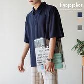 Doppler POLO衫 韓系簡約落肩素色保羅衫 t恤【TJPL07】現貨+預購