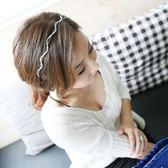 UNICO 韓版 時尚波浪閃鑽造型髮箍