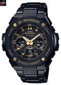 CASIO 卡西歐GST-S300BD-1A絕對強悍世界時間高科技黑色離子IP處理GST-S300BD-1ADR卡西歐網路專賣