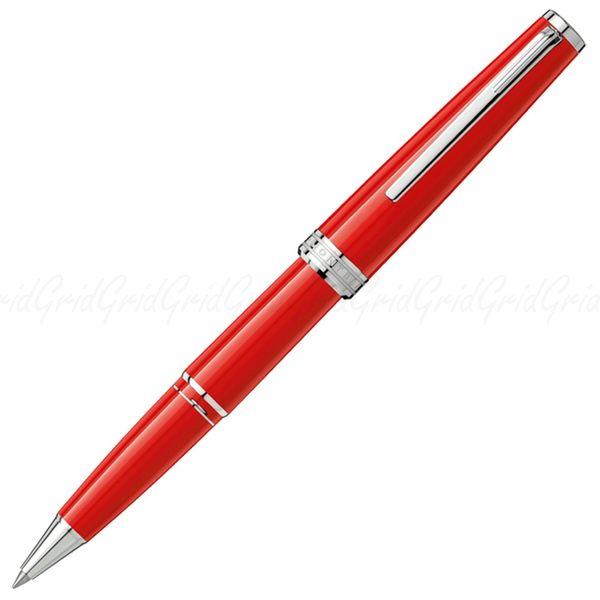 MONT BLANC 萬寶龍 PIX 鉑金夾 珊瑚紅 鋼珠筆- 114813