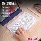 無線藍芽鍵盤可充電靜音超薄迷你適用蘋果i...