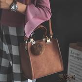 手提包復古休閒小方包手提包