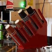 咖啡奶茶店取塑膠紙分杯架 吧台擺放杯蓋取杯器 一體成型外帶杯架   ATF 錢夫人小鋪