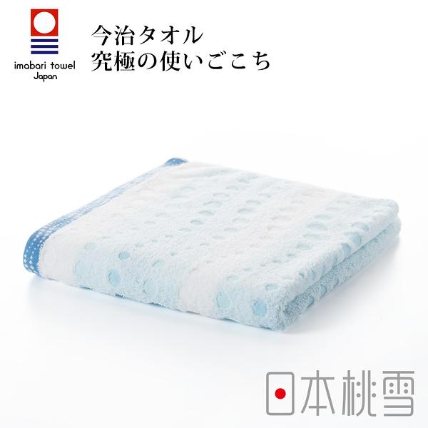 日本桃雪今治水泡泡毛巾(海水藍) 鈴木太太