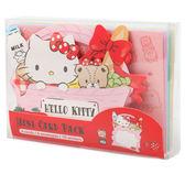 Sanrio HELLO KITTY造型迷你卡片組(繽紛購物籃)★funbox★_311502N