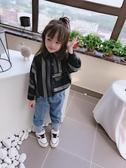 兒童長袖上衣  2019春秋季 中小童兒童蝙蝠袖襯衫 男女童寶寶舒適寬松條紋上衣