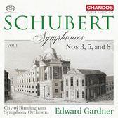 【停看聽音響唱片】【SACD】舒伯特:交響曲,第一集 愛德華.加德納 指揮