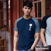 BIG TRAIN  伊達政宗配色滿版袖T-男-B80662