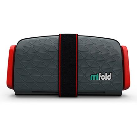 美國 mifold 隨身安全座椅/汽座-深灰色(4-12歲適用)【佳兒園婦幼館】