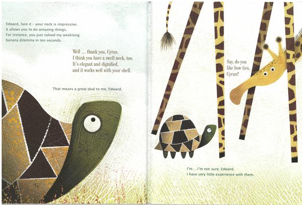 Giraffe Problem自我認同英文繪本圖畫童書